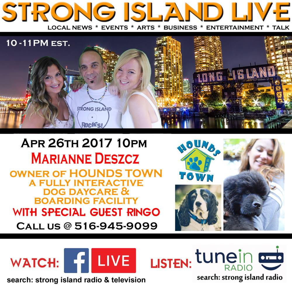 strong island live advertisement